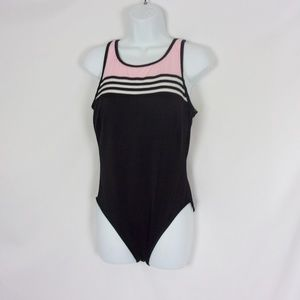 Miraclesuit One Piece Swimsuit 14 Black Pink
